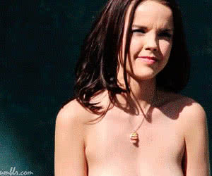 Dillion Harper animated GIF