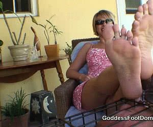 Foot Domination animated GIF