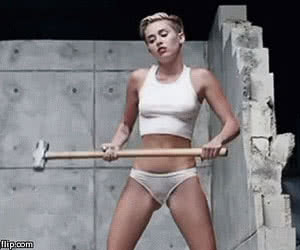 Miley Cyrus animated GIF