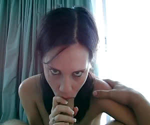 Eye Contact Blowjob